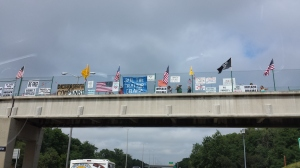Overpasses for Obama's Impeachment Grows Bigger