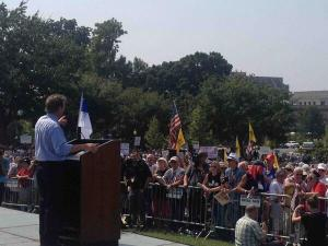 Rand Paul Exempt America Rally