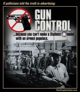 gun control enslave populace O