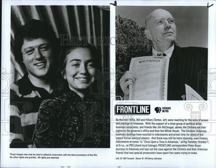 1997-press-photo-frontline-bill-and-hillary-clinton-and-jim-mcdougal-in-once-a3b3cbe6bc44fca427229397dd2c04b3