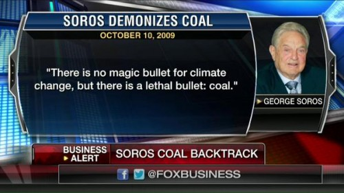 Soros coal