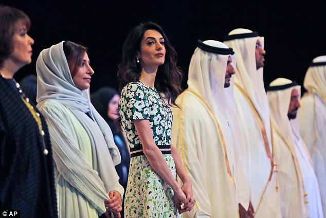 amal-and-mommy-at-conference
