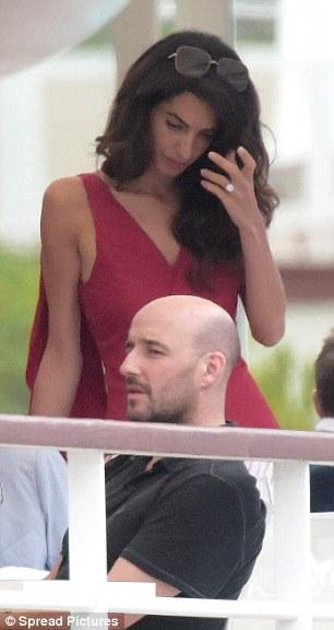 Amal Dan Ring Cannes