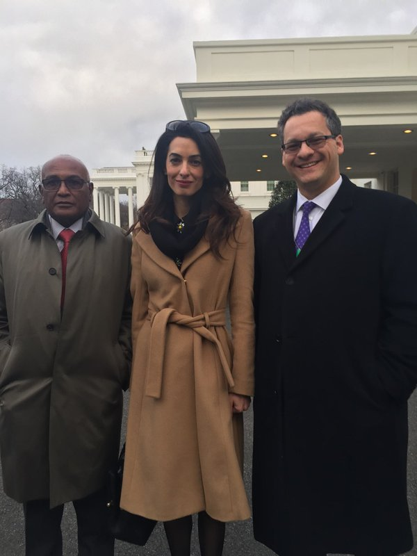 Amal Jared 2 jan 12 DC