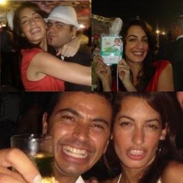 Amal party animal