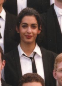 *** NO LIBRARY - NO SYNDICATION - NO CREDIT *** Pic of Amalmuddin college freshers photo at St Hugh,s Oxford 1996 ***DO NOT CREDIT***