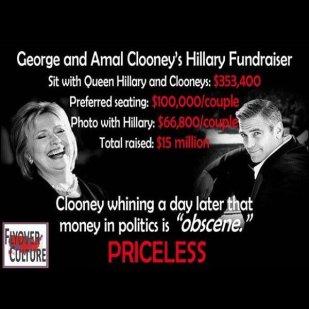 Clinton Clooney Fundraiser 3