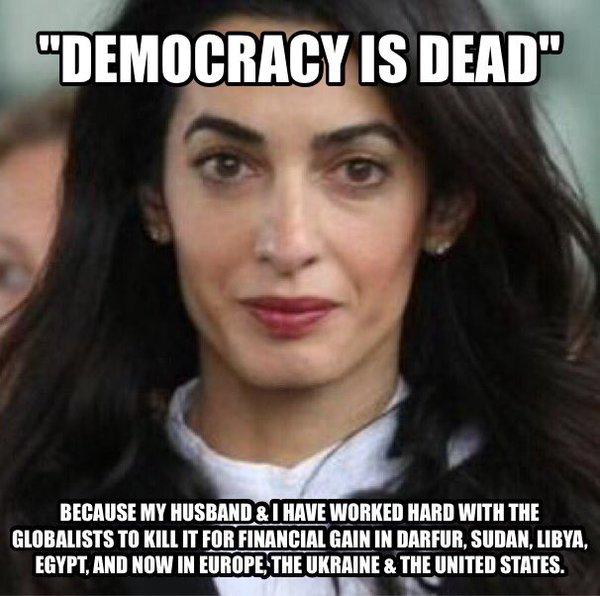 Democracy is Dead meme
