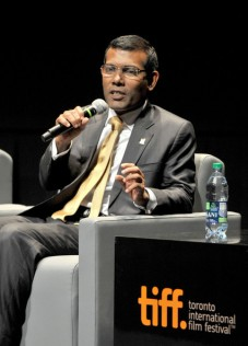 Mohamed+Nasheed+Island+President+Premiere+KRrIliwDGI2l