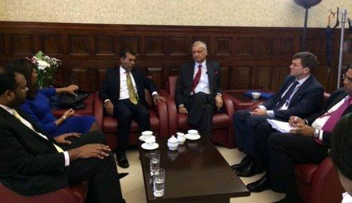 Nasheed Gov Meeting