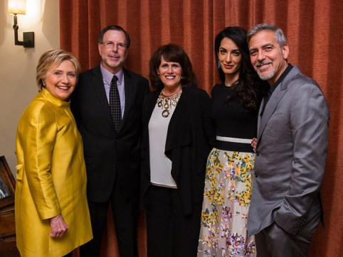 "The Clooney (Clinton) Foundation for ""Justice"""