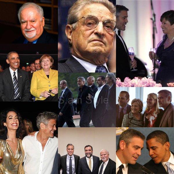 Clooneys handlers
