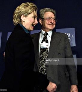 Soros Clinton
