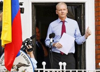 Assange alone