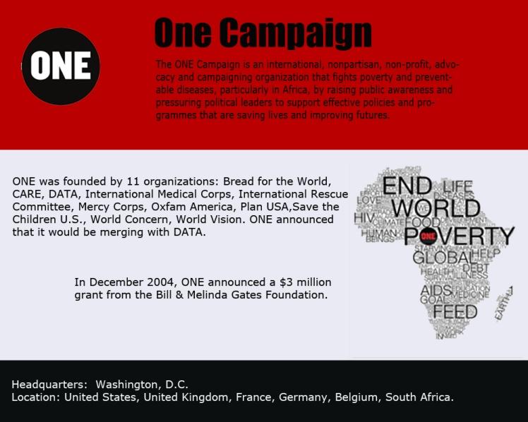 Bono ONE campaign