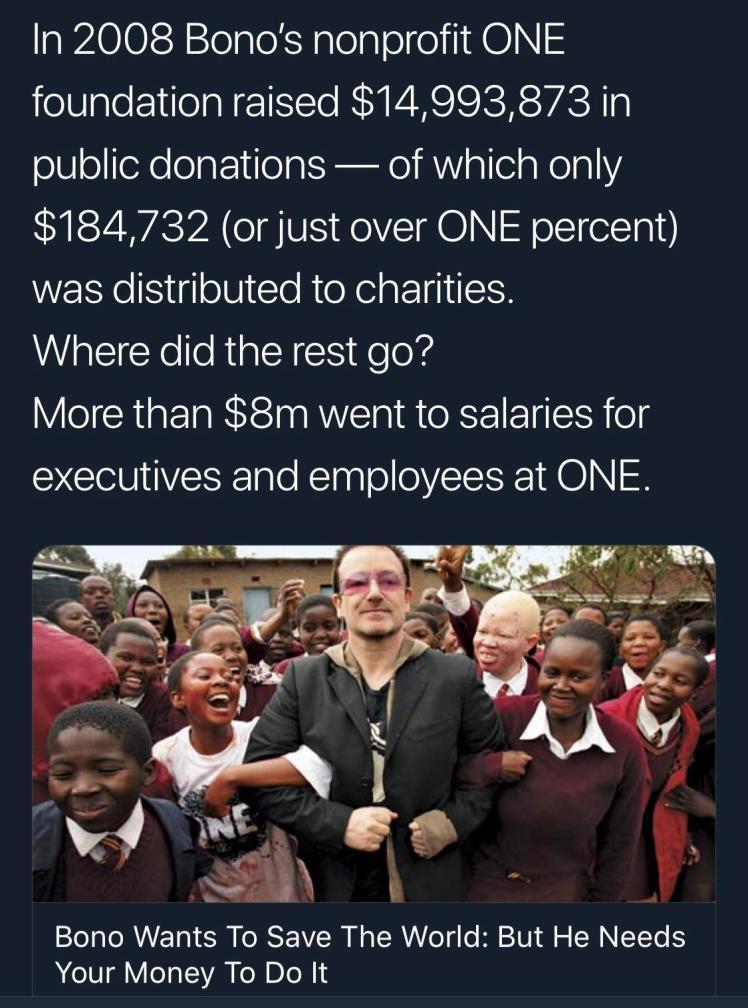 Bono red fraud