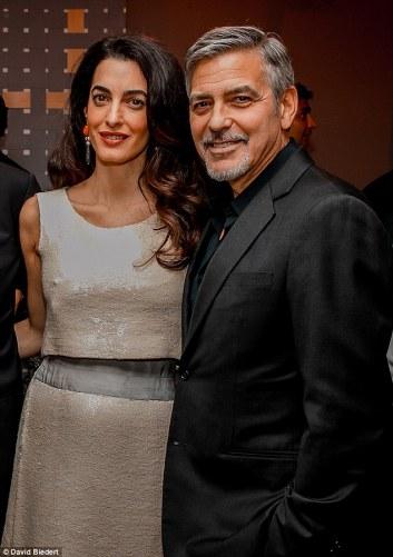 Clooney Davos