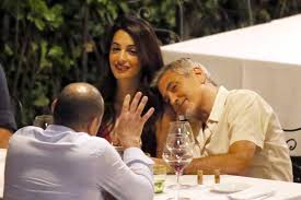 Clooney Italy August 2017 dinner 2