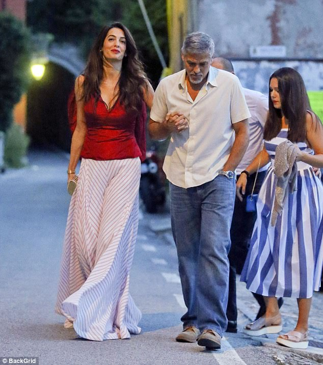 Clooney Italy July 2017