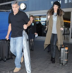 Clooney LA Jan 28 2017