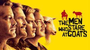 Clooney Men Stare Goats