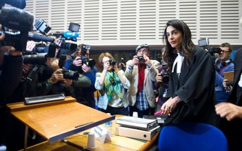 Amal Clooney, conseils gouvernement arménien