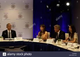 Clooney UN refugees 2