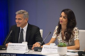 Clooney UN refugees