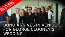 Clooney wedding Bono