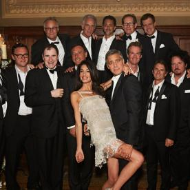 Clooney wedding reception