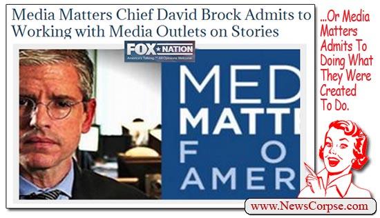 David Brock Media Matters