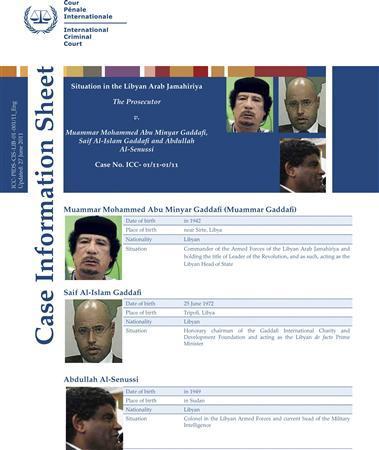 gaddafi senussi info sheet