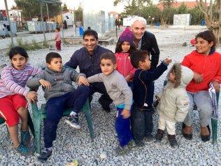 Giustra refugees greece