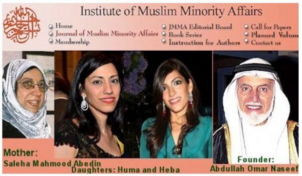 Huma Abedin Family