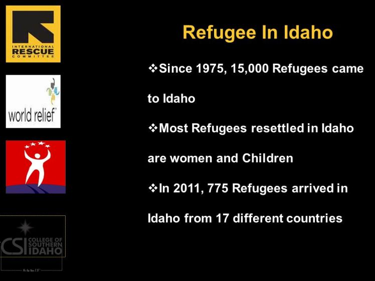 IRC Idaho