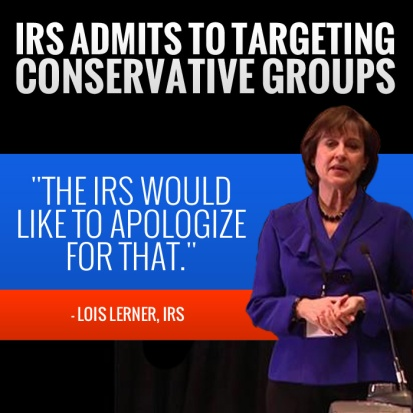 IRS targets tea party