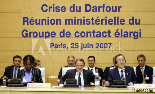 Kouchner Darfur
