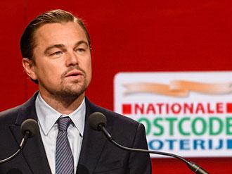 Leonardo-DiCaprio postcode lottery