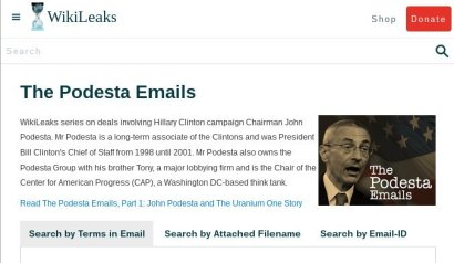 Podesta Wikileaks email
