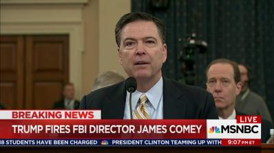 Trump Comey Fired