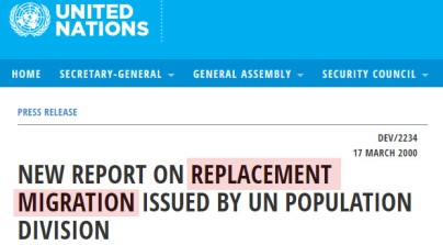 UN Replacement Population 1